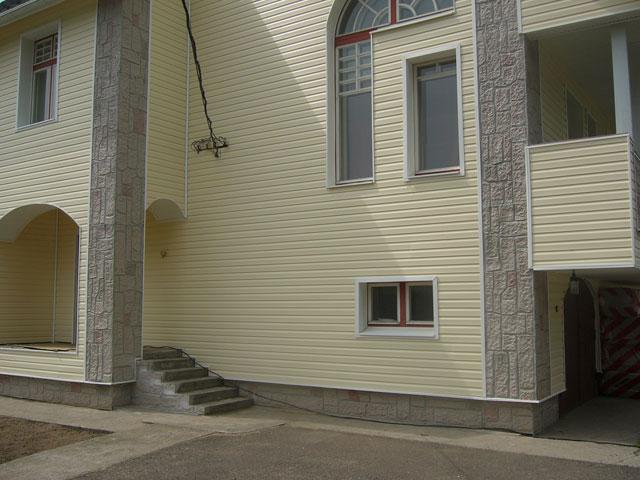 Отделка блок хаусом фасад дома