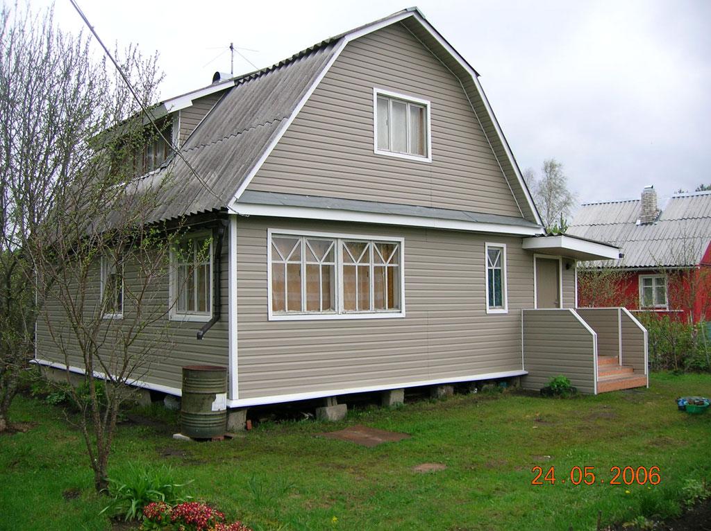 Фасады дачных домиков фото