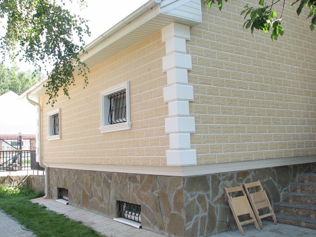 Отделка плиткой фасадов фото
