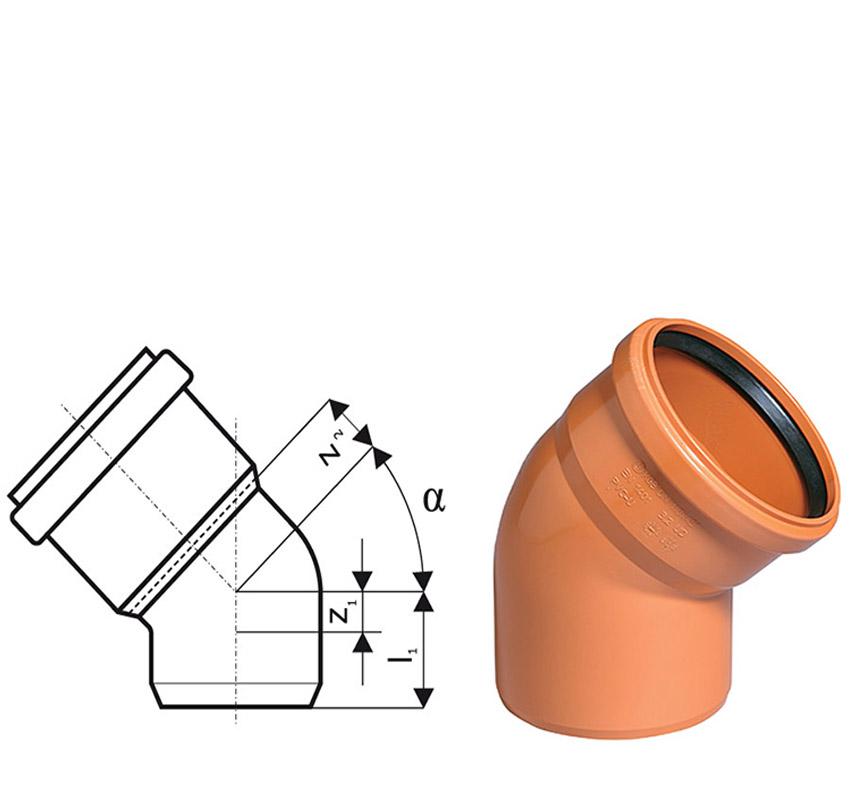 Диаметр канализационных труб ПВХ выбор размера труб для