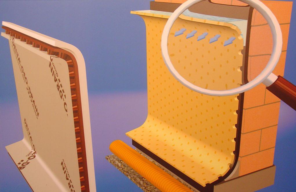 delta geo drain quattro delta dorken. Black Bedroom Furniture Sets. Home Design Ideas