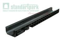 Лоток водоотводный PolyMax Basic ЛВ-10.15.08-ПП пластиковый