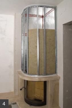 Печей теплоизоляция для на стену