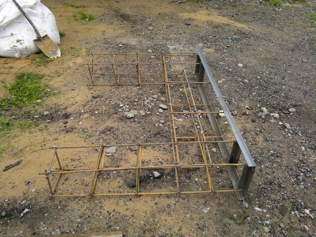 арматура для фундамента откатных ворот