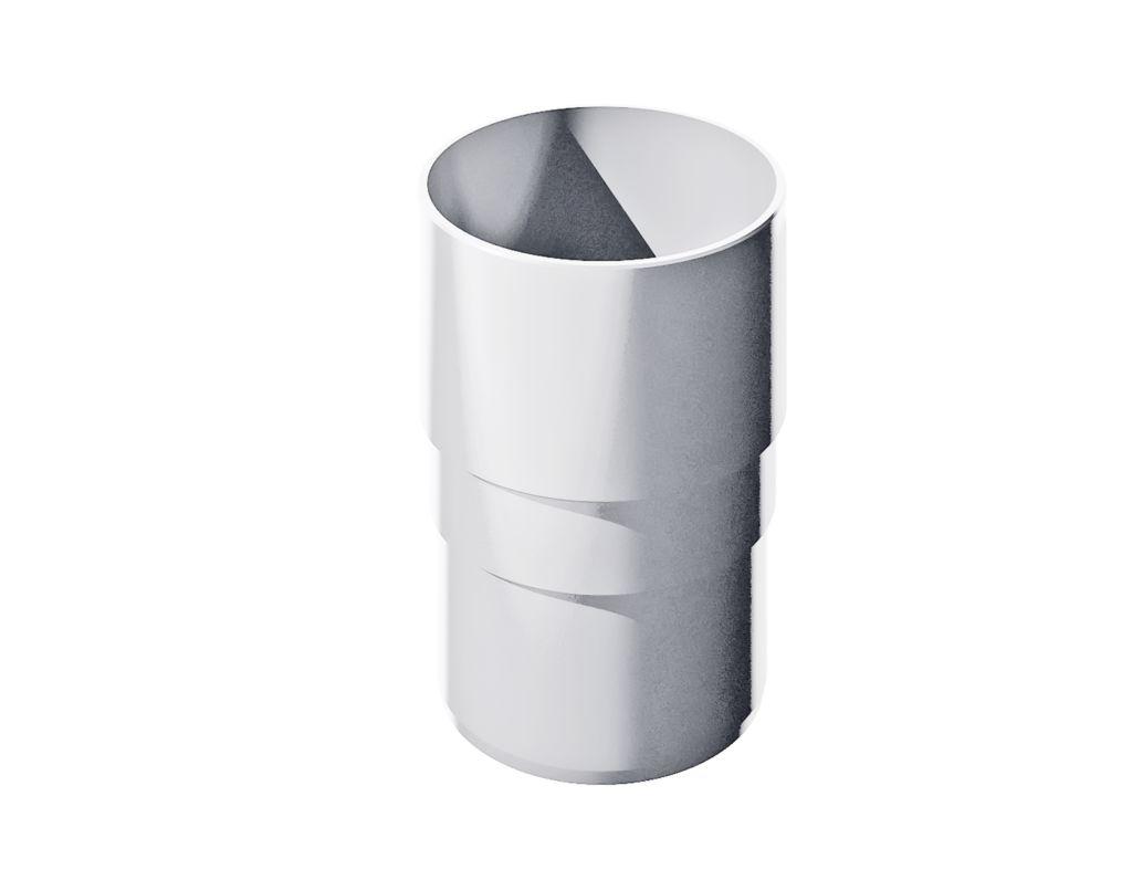 Муфта трубы соединительная ПВХ - D125/82мм белый - ТехноНиколь / Verat  пластиковый водосток - Водосточные системы - Санкт-Петербург - Прайс - Цены - Интернет-магазин - Прайс лист OnLine - Актуальные цены на октябрь 2020 года - «ТОП ХАУС» +7 (812) 244-60-70